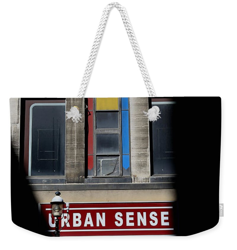 Toronto Weekender Tote Bag featuring the photograph Urban Sense 1 by Andrew Fare