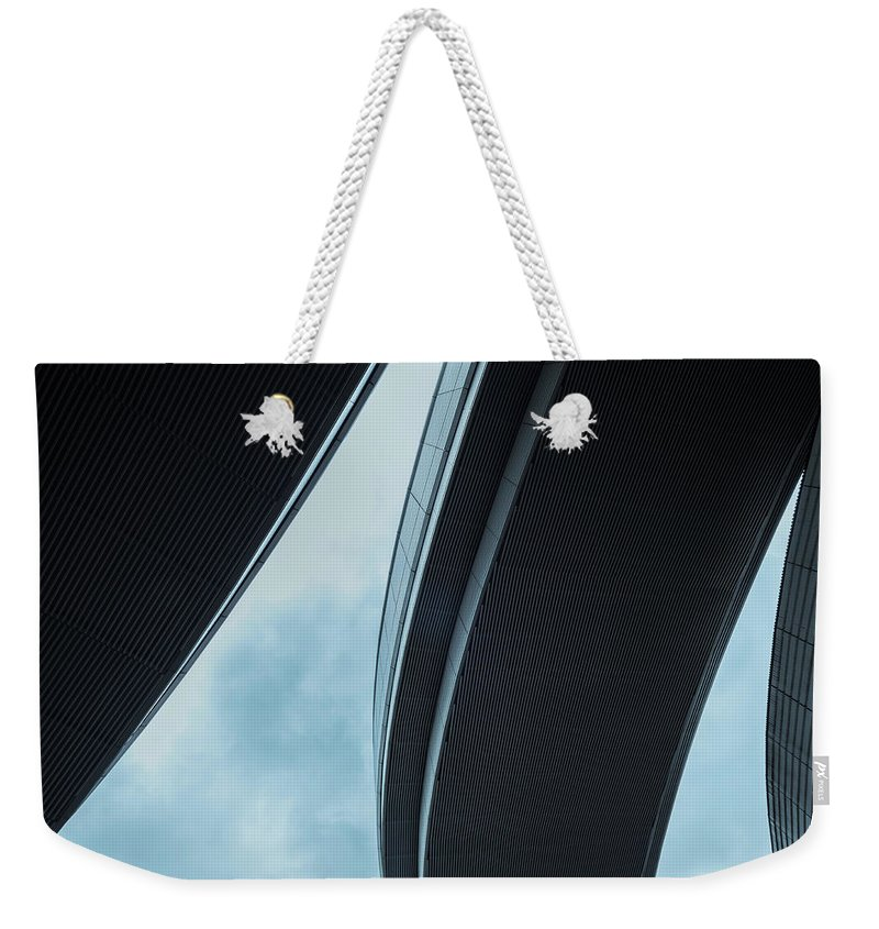 Curve Weekender Tote Bag featuring the photograph Urban Structure by Sasaki Makoto