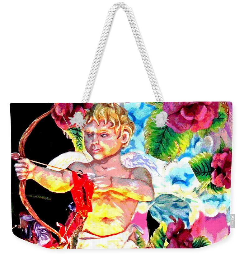 Digital Art Weekender Tote Bag featuring the photograph Val-n-time 1953 by Marian Bell