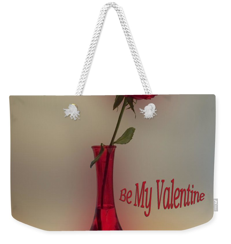 St. Valentine Weekender Tote Bag featuring the photograph Valentine Careful I Just Might Poke You by Thomas Woolworth