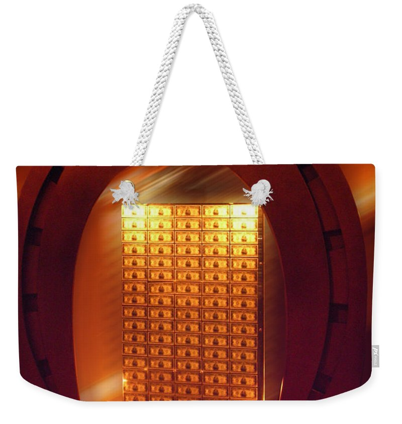 St. Valentine Weekender Tote Bag featuring the photograph Valentine Million Bucks by Thomas Woolworth