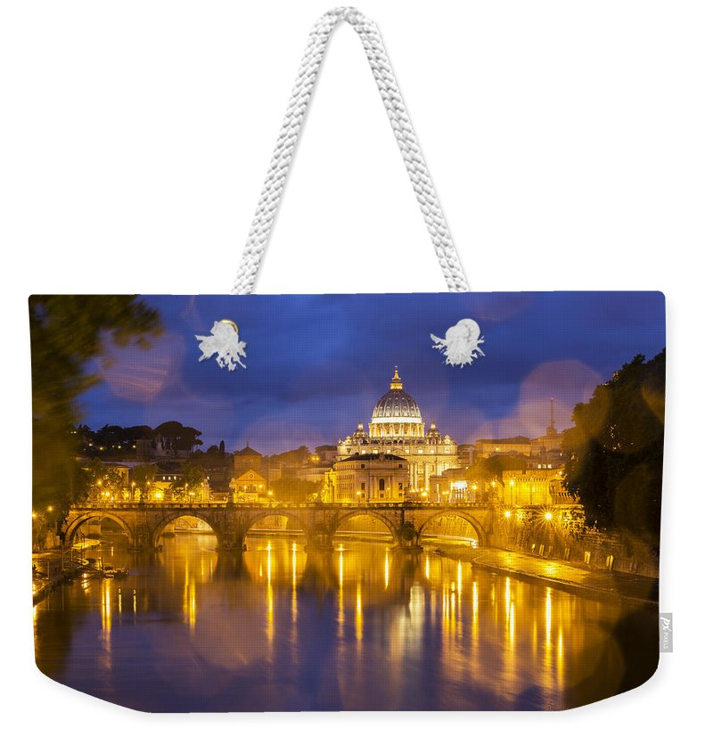 Building Weekender Tote Bag featuring the photograph Vatican by Mircea Costina Photography