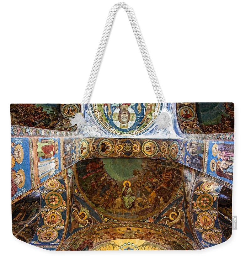 Architecture Weekender Tote Bag featuring the photograph Vaulted by Madeline Ellis