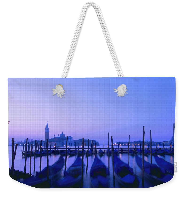 Art Weekender Tote Bag featuring the photograph Venetian Sunrise by Zina Zinchik