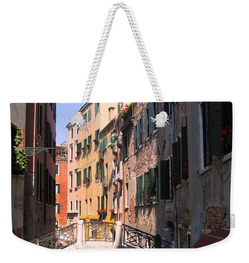 Venice Weekender Tote Bag featuring the photograph Venice by Dany Lison
