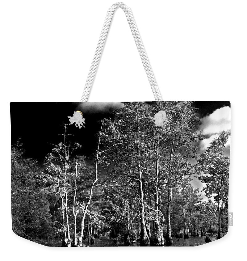 Vernon Lake Weekender Tote Bag featuring the photograph Vernon Lake Trip by Ken Frischkorn