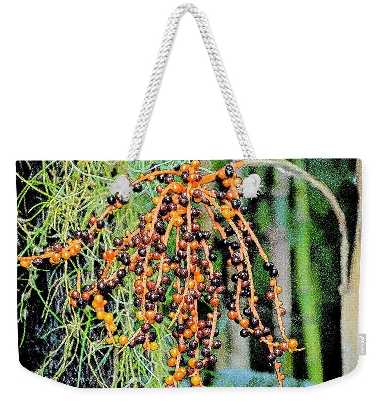 Lively Berries Weekender Tote Bag featuring the photograph Vibrant Berries by Sonali Gangane