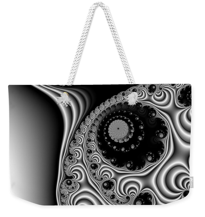 Digital Art Weekender Tote Bag featuring the digital art Vibration Of Hope by Christy Leigh