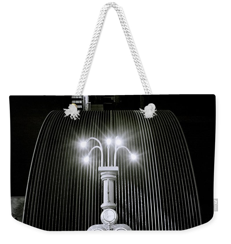 Steampunk Weekender Tote Bag featuring the photograph Beauty Of Light by Shaun Higson