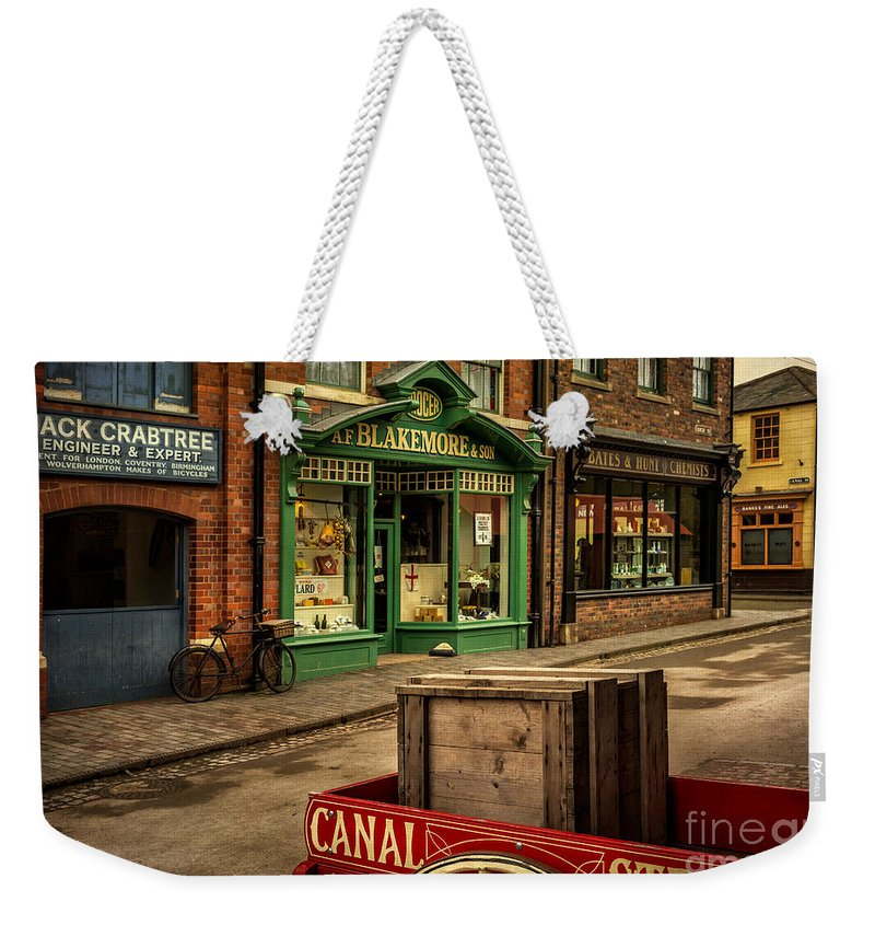British Weekender Tote Bag featuring the photograph Victorian Town by Adrian Evans