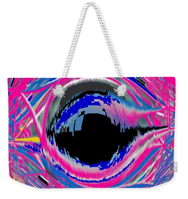 Abstract Weekender Tote Bag featuring the photograph Vienna Modern by Ian MacDonald
