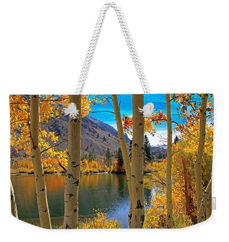 Water Fall Photographs Weekender Tote Bags