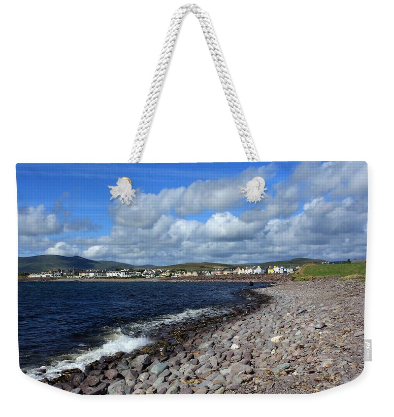 Ireland Weekender Tote Bag featuring the photograph Village By The Sea - County Kerry - Ireland by Aidan Moran