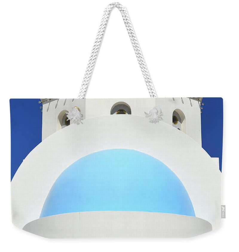 Island Weekender Tote Bag featuring the photograph Village Church by Jack Daulton