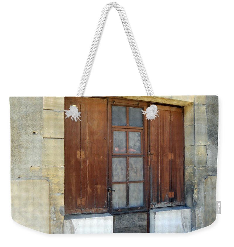 Still Life Weekender Tote Bag featuring the photograph Village Square by Lauren Leigh Hunter Fine Art Photography