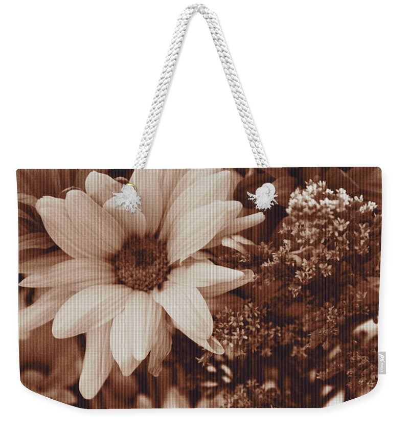 Bouquet Weekender Tote Bag featuring the photograph Vintage Bouquet by Dan Sproul