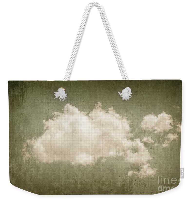 Heaven Weekender Tote Bag featuring the photograph Vintage Clouds Background by Jorgo Photography - Wall Art Gallery