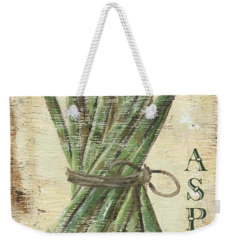 Asparagus Weekender Tote Bags