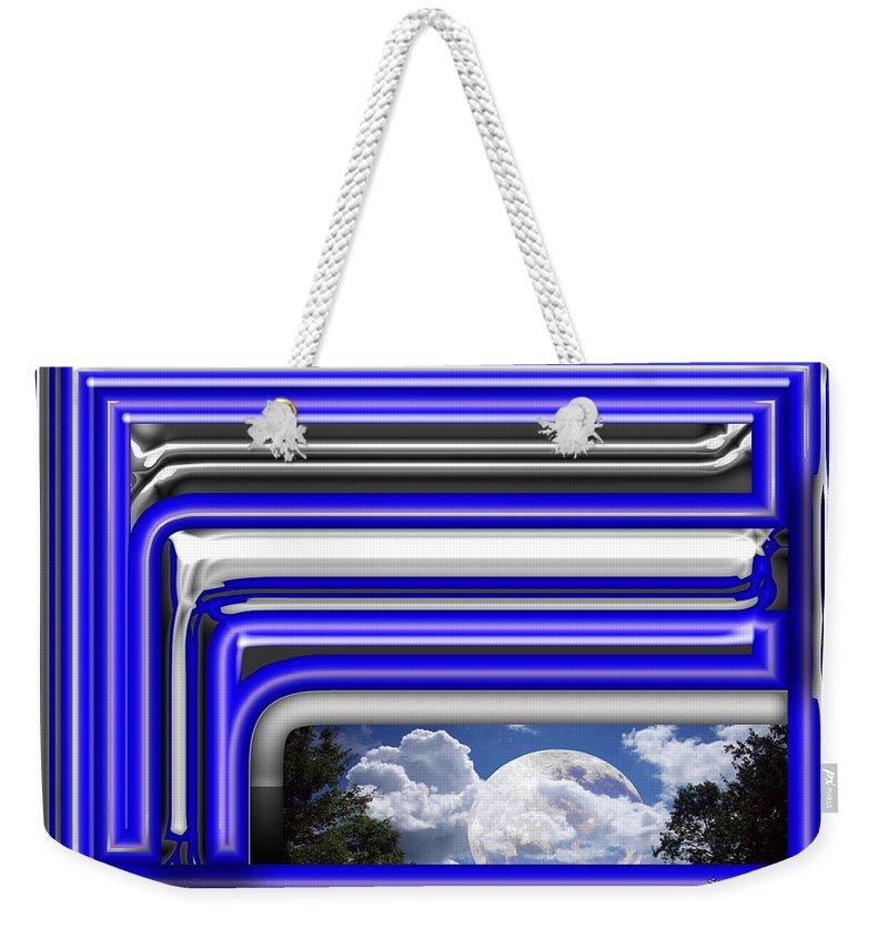 Sky Weekender Tote Bag featuring the digital art Visions by Robert Orinski