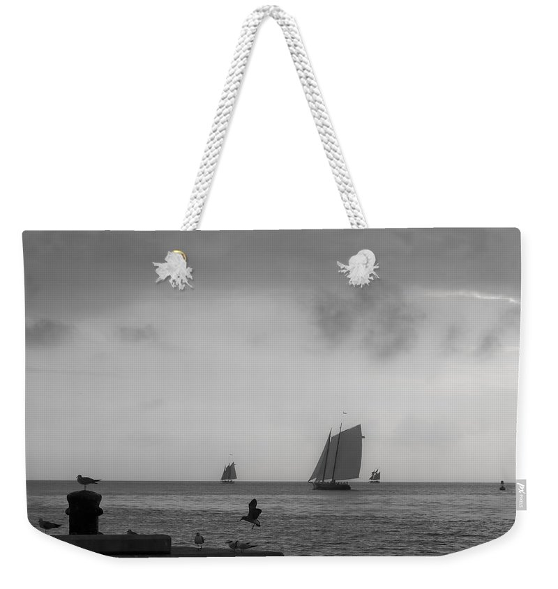 Key Weekender Tote Bag featuring the photograph Wait For Me by Scott Meyer