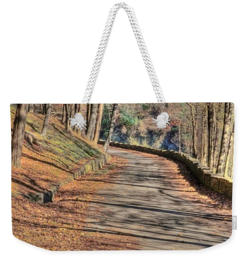Walk Weekender Tote Bag featuring the photograph Walk In The Park by Kathleen Struckle