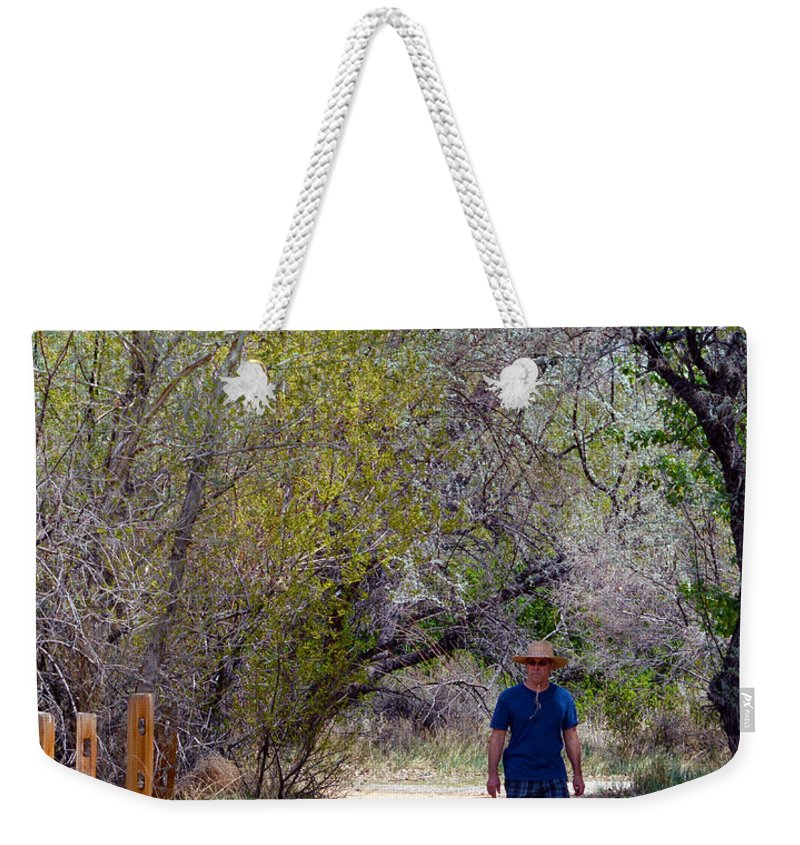 Dad Weekender Tote Bag featuring the photograph Walking by Brent Dolliver