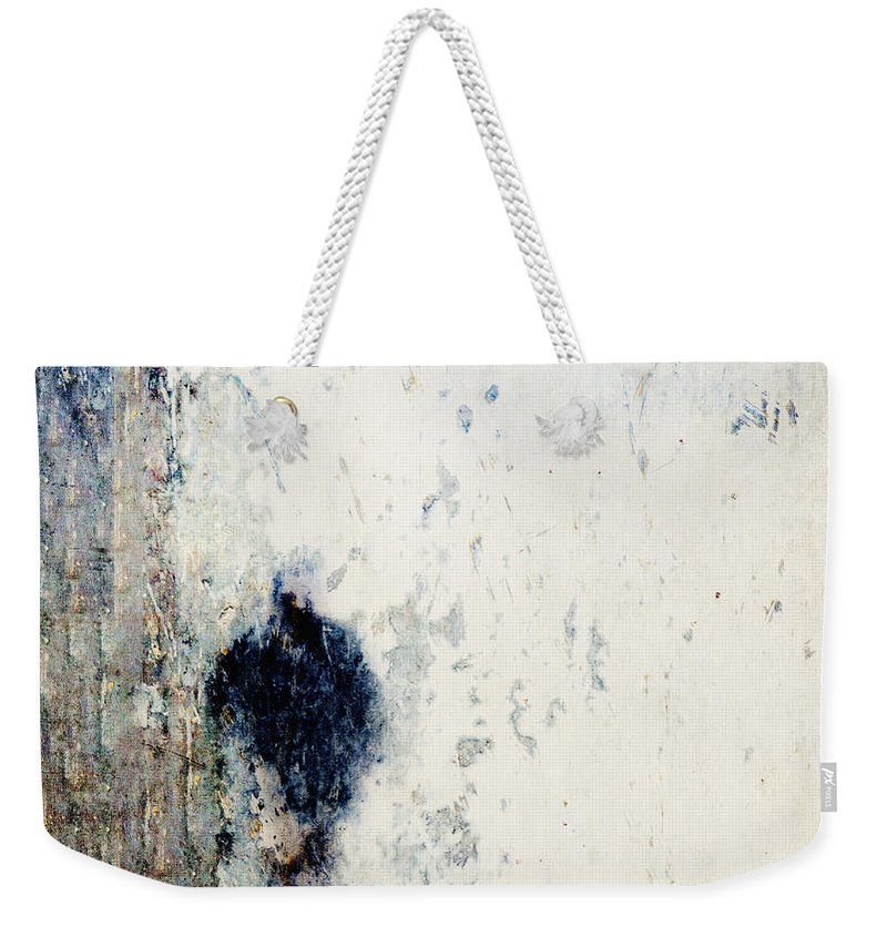 Walking In The Rain Weekender Tote Bag featuring the photograph Walking In The Rain by Carol Leigh