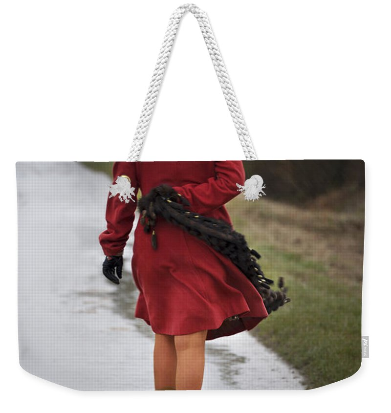 Lena Weekender Tote Bag featuring the photograph Walking Miles by Svetlana Sewell