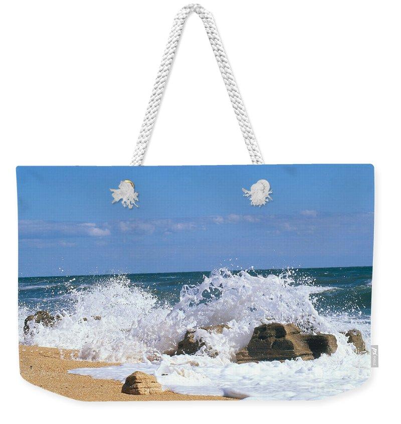 Beach Weekender Tote Bag featuring the photograph Washington Oaks State Park, Fla by Millard H. Sharp