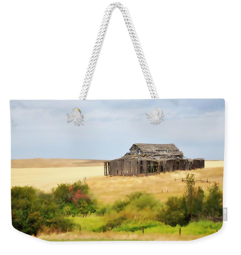Washington Weekender Tote Bag featuring the photograph Washington - Still Standing by Image Takers Photography LLC