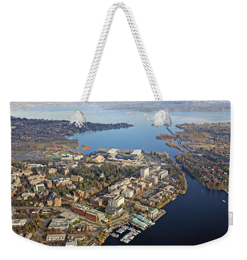 University Weekender Tote Bag featuring the photograph Washington University by Paul Fell