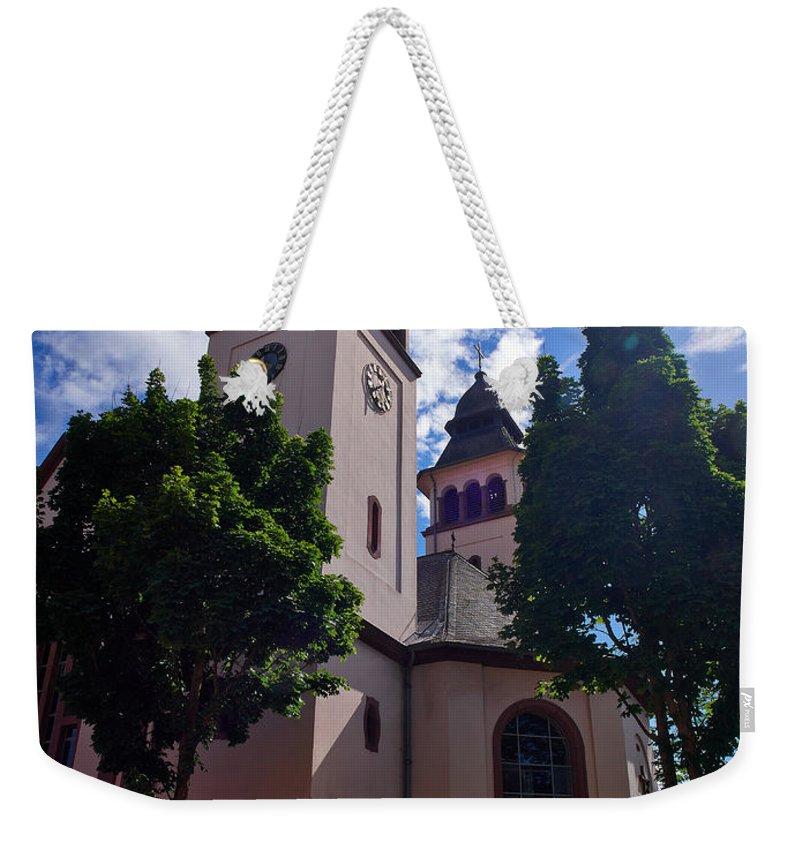 Alankomaat Weekender Tote Bag featuring the photograph Wasserbillig Luxemburg by Jouko Lehto