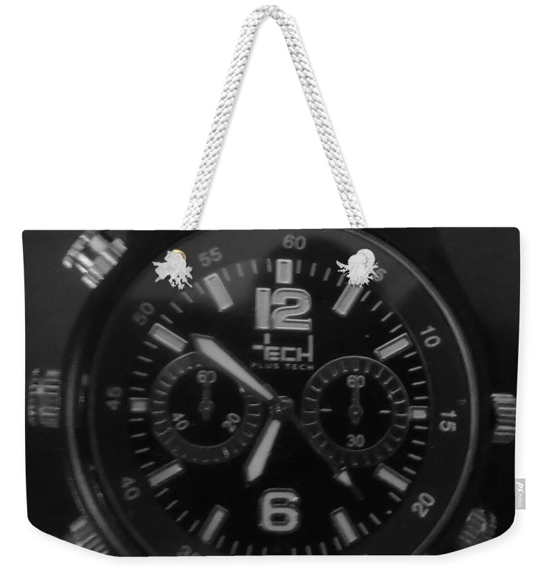 City Weekender Tote Bag featuring the photograph Watch It by Tuntufye Abel