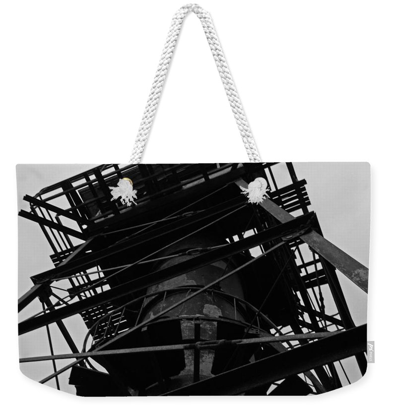 Watchtower Weekender Tote Bag featuring the photograph Watchtower by Jennifer Ancker