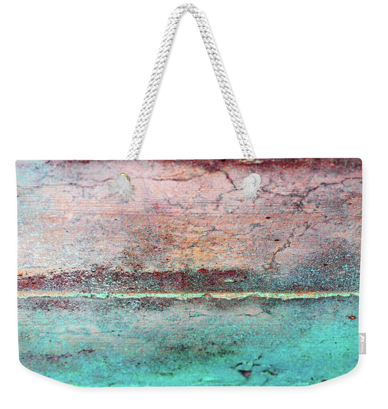 Macro Weekender Tote Bag featuring the photograph Water And Sky by Tara Turner