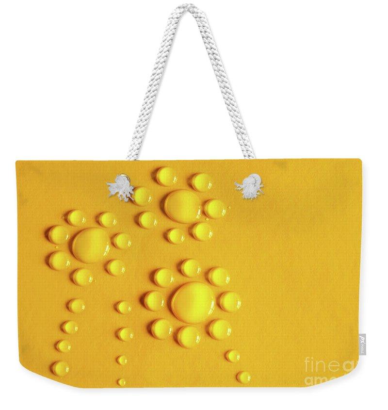 Drops Weekender Tote Bags