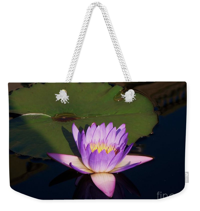 Photograph Weekender Tote Bag featuring the photograph Water Lilies Monet by Eric Schiabor