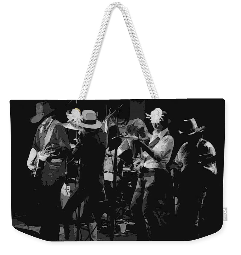 Marshall Tucker Band Weekender Tote Bag featuring the photograph Watermelon Boogie Woogie by Ben Upham