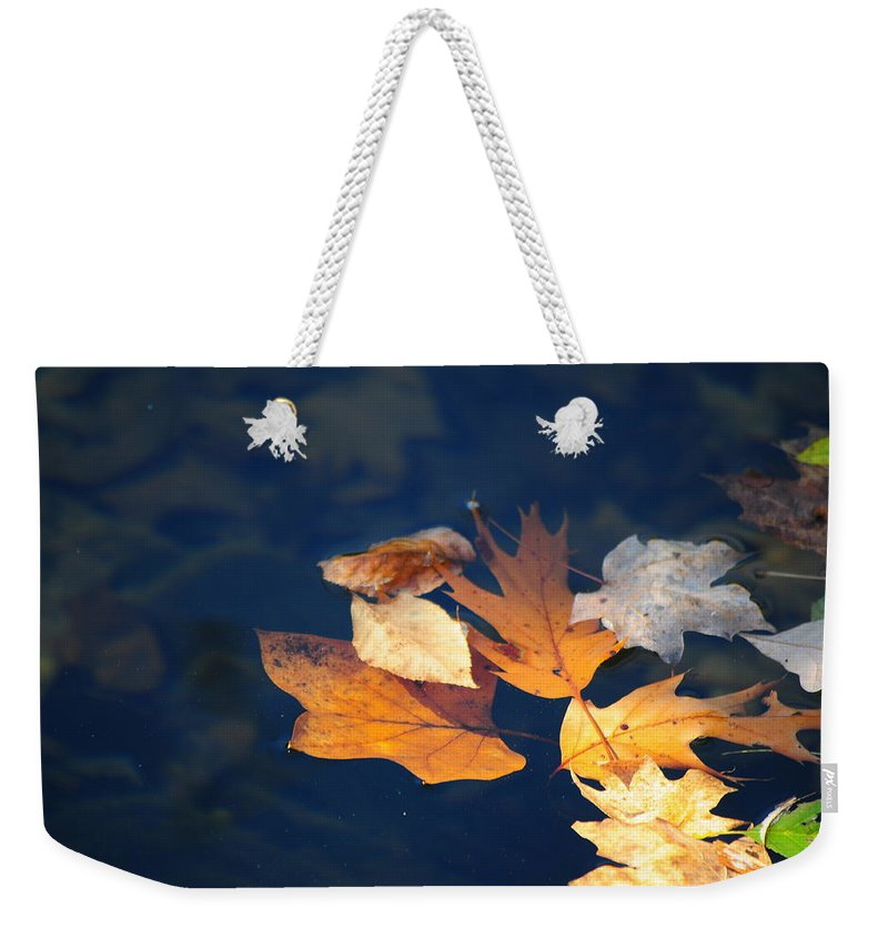 Landscape Still Life Weekender Tote Bag featuring the photograph Watery Grave by Jack Harries
