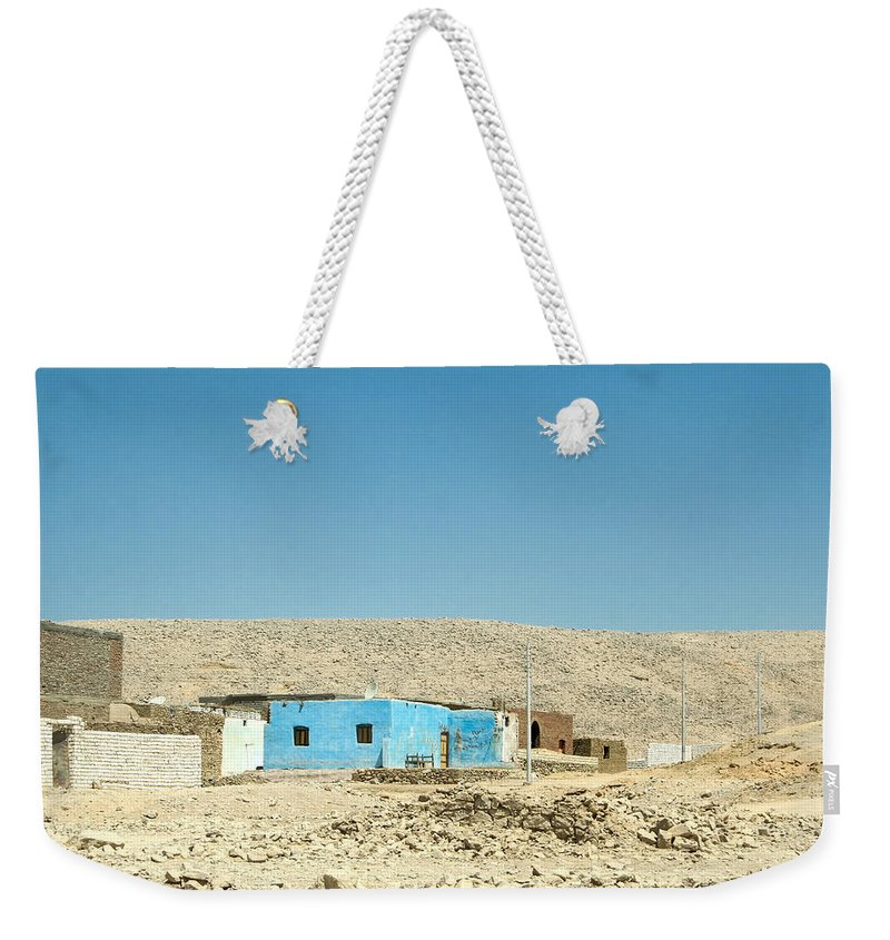 Egypt Weekender Tote Bag featuring the photograph Way Back Home.. by A Rey