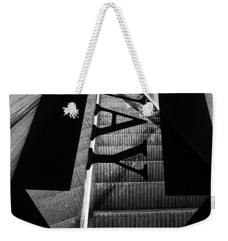Stairs Weekender Tote Bag featuring the photograph Way Down by The Artist Project