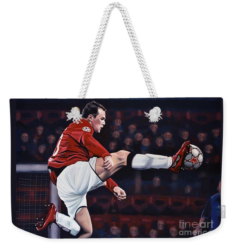 Wayne Rooney Weekender Tote Bags