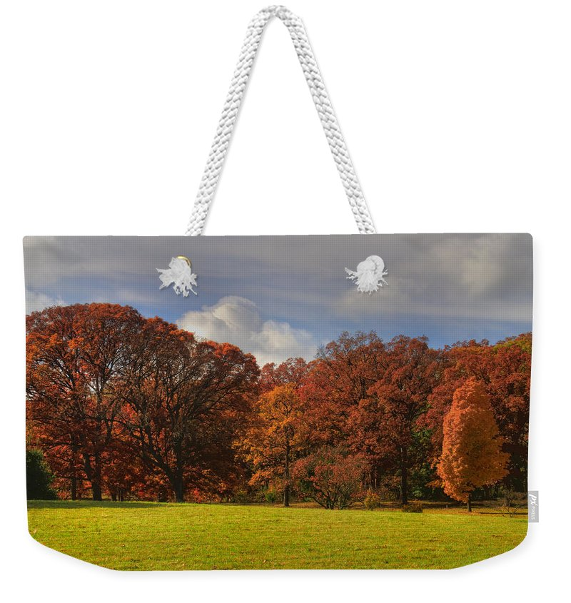 Trees Weekender Tote Bag featuring the photograph We Will Be Back by John Absher