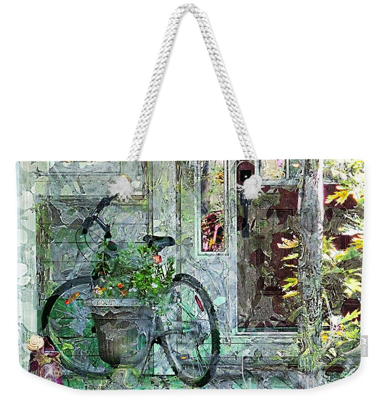 Nostalgic Weekender Tote Bag featuring the photograph Welcome Home by Claire Bull