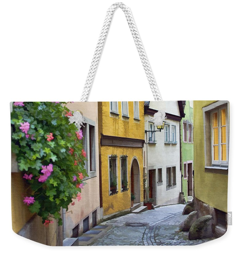 Architecture Weekender Tote Bag featuring the photograph Welcome Home by Sharon Foster