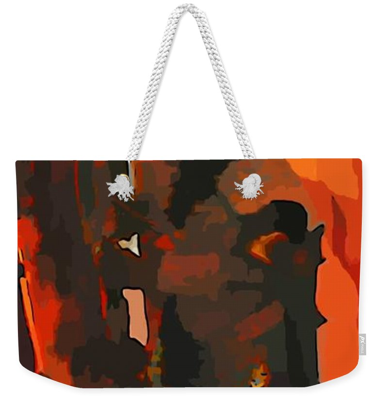 Welcome To Your Nightmare Weekender Tote Bag featuring the photograph Welcome To Your Nightmare by John Malone