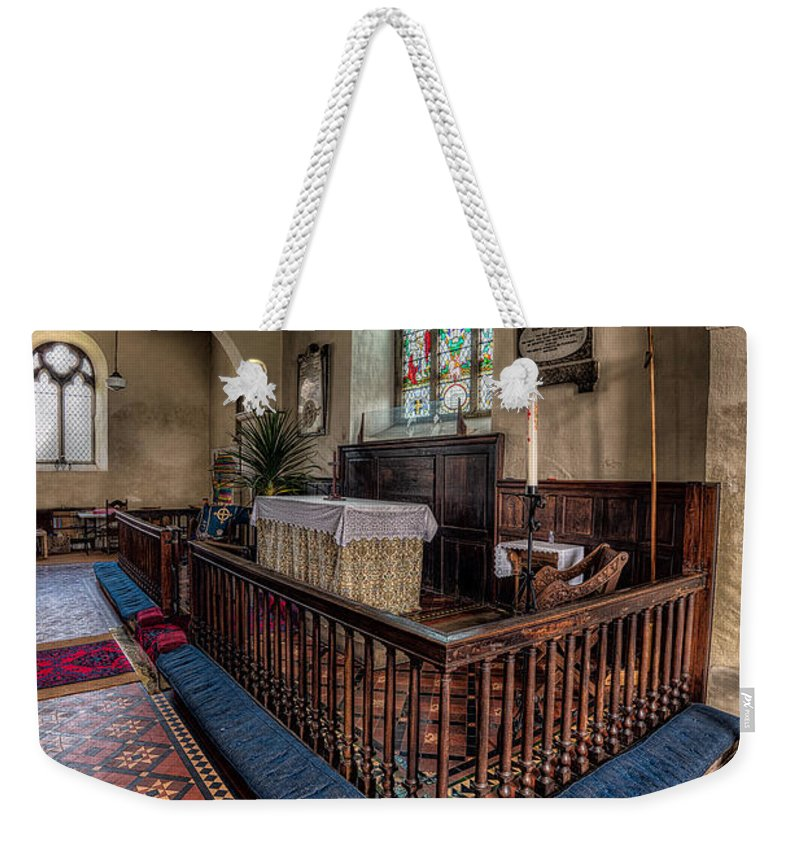 British Weekender Tote Bag featuring the photograph Welsh Chapel by Adrian Evans