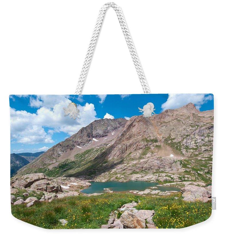 Weminuche Wilderness Area Weekender Tote Bag featuring the photograph Weminuche Wilderness Area Landscape by Cascade Colors