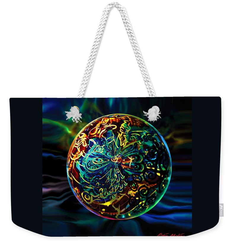 New Orleans Weekender Tote Bag featuring the digital art West Of Orleans by Robin Moline