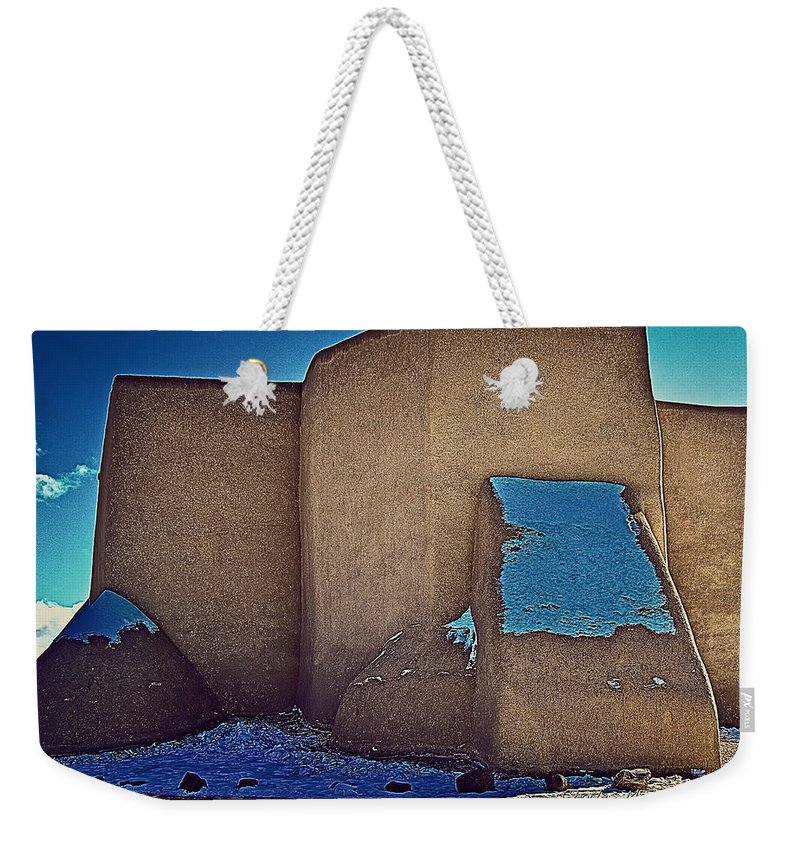 West Weekender Tote Bag featuring the photograph West Side by Charles Muhle